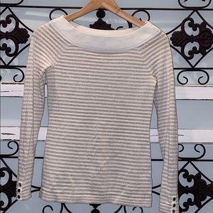 White House Black Market Boatneck Sweater Sz XXS